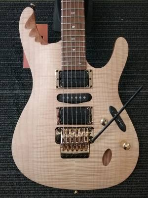 Herman Li Egen Electric Guitar - Platinum Blonde