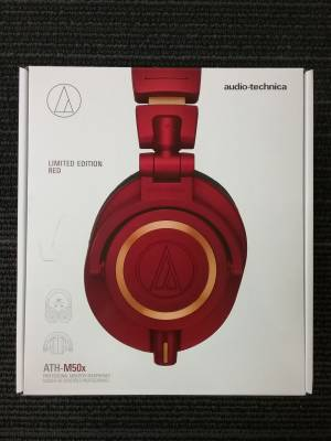 ATH-M50x Monitor Headphones - Limited Edition Red