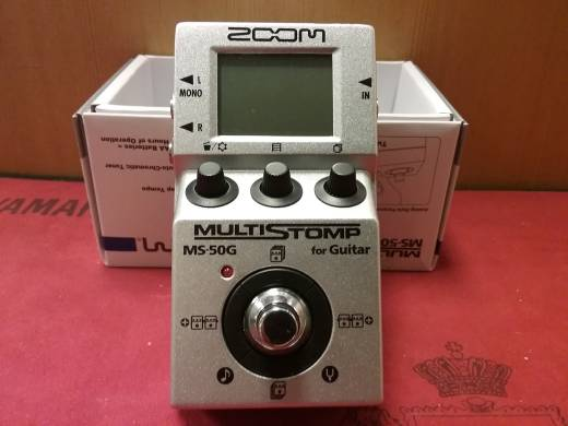 Zoom MultiStomp Guitar Effects Pedal