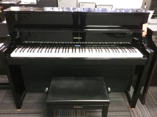 Roland LX-17 Digital Piano - Polished Ebony w/ Stand & Bench