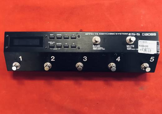 ES-5 Boss Effects Switching System