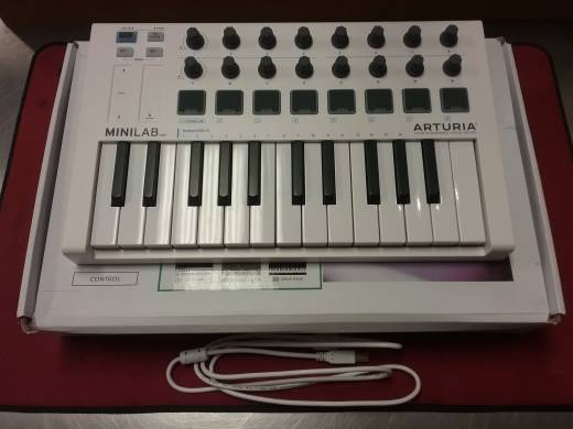 Arturia MiniLab MkII 25 Mini Key Controller with Software Sounds