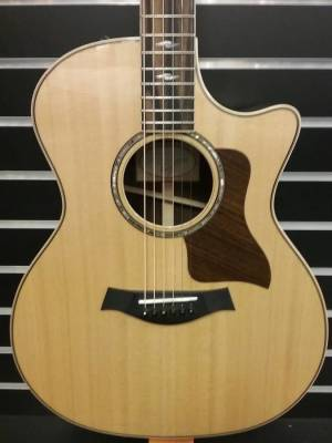 Taylor 814CE Auditorium Spruce/RW Acoustic/Electric Guitar w/Case