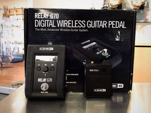 Relay G70 Wireless System (Pedalboard Style)