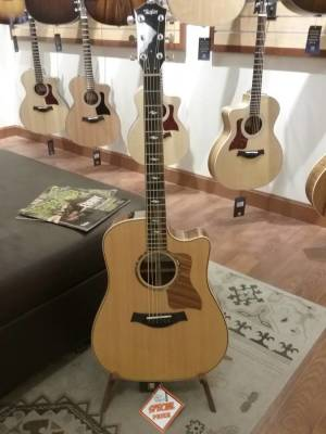 Taylor 810CE STD Dreadnought Spruce/RW Acoustic/Electric Guitar