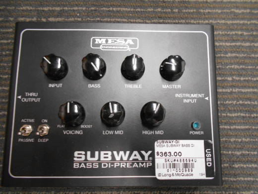 Store Special Product - Subway Bass DI Preamp
