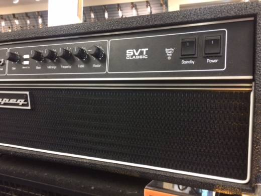Store Special Product - AMPEG CLASSIC 300W ALL TUBE BASS HEAD