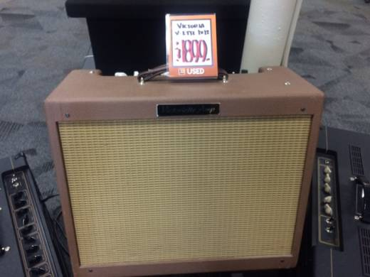 VICTORIA 1X12 TWEED 6L6 COMBO REV/TREM