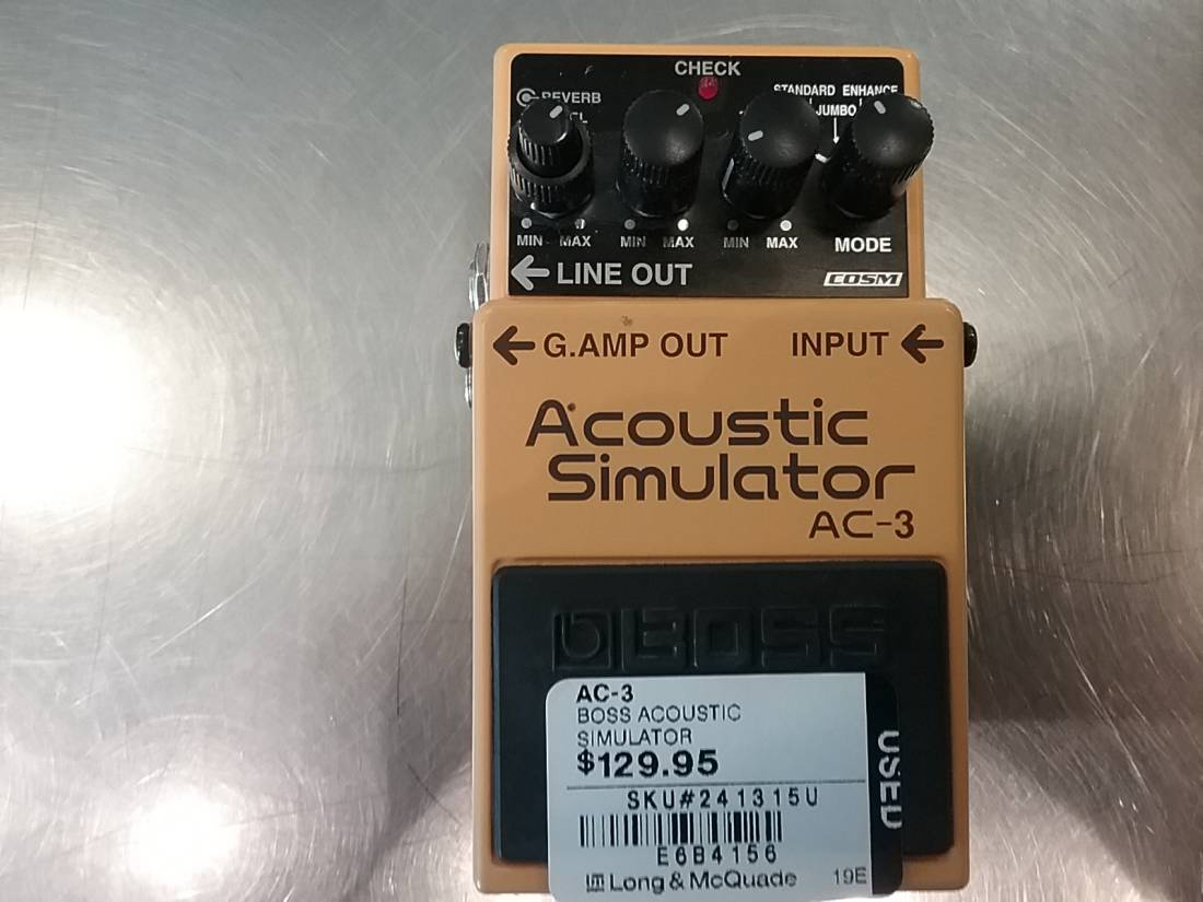 Store Special Product - Acoustic Simulator