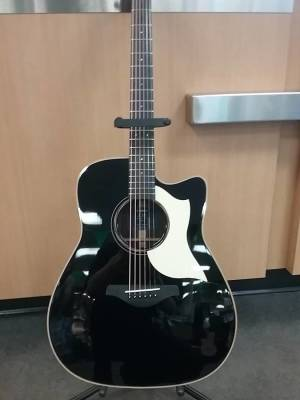 A3R All Solid Spuce/Rosewood Acoustic-Electric Guitar - Limited Edition Black