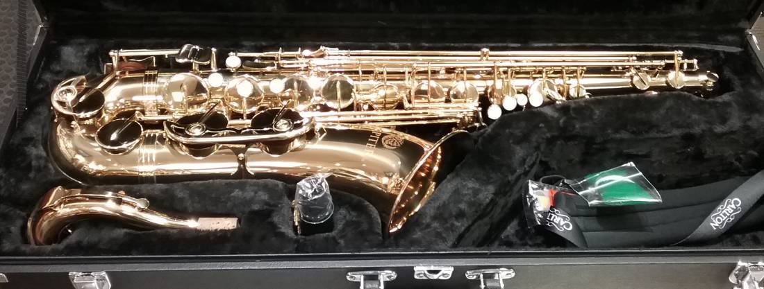 Tenor Saxophone in Bb - Gold Lacquered, High F#