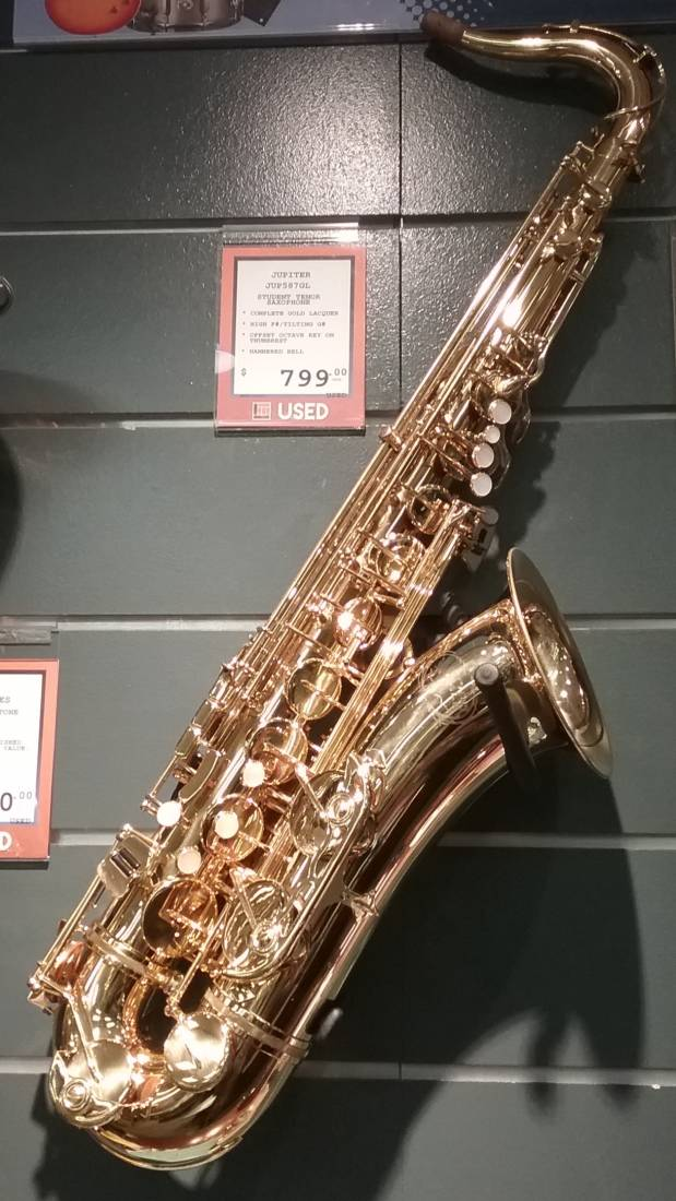 Jupiter 587GL - Tenor Sax Outfit
