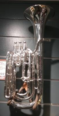 Besson 1000 Series 3-valve Baritone Silver Plated