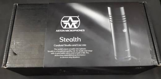 Store Special Product - BLACK FRIDAY DEAL! - Aston - AST-STEALTH Dynamic Mic