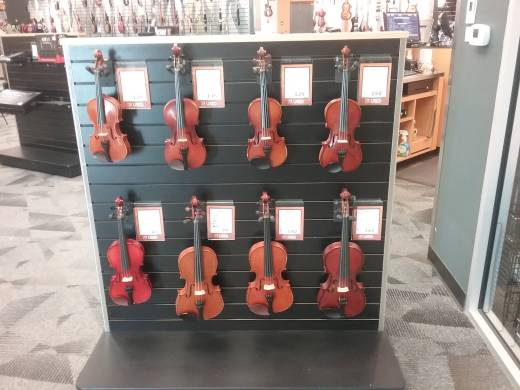 Used Partial Size Violin Outfits $90 - $199
