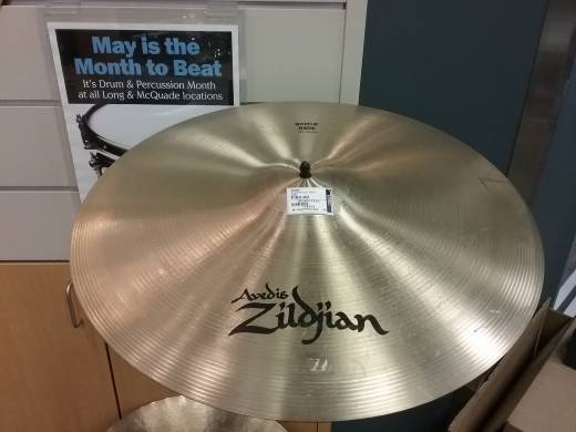 A Rock Ride Cymbal - 20 Inch