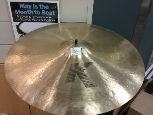 K Custom Medium Ride Cymbal - 22 Inch