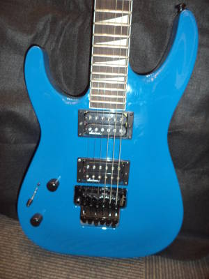 JS32L Dinky DKA Electric Guitar - Bright Blue (Left Hand)