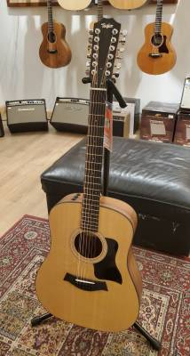 Store Special Product - *Rent Me* Taylor 150e 12-String Dreadnought Walnut/Spruce Acoustic Electric Guitar