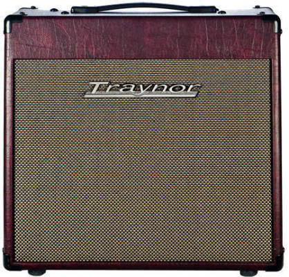 Store Special Product - Traynor Custom Valve 15 Watt All-Tube 1x12 Guitar Combo Amp - Wine Red