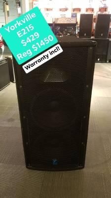 Yorkville Sound Elite Series E215 Passive Speaker 2 X 15