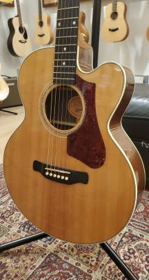 Gibson 2017 High Performance 665 SB Acoustic/Electric Guitar - Natural