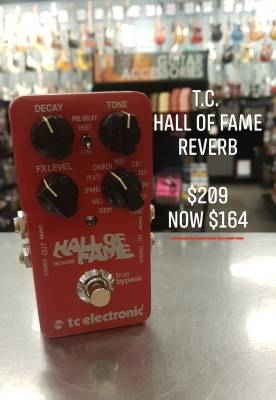 Store Special Product - TC Hall of Fame Reverb