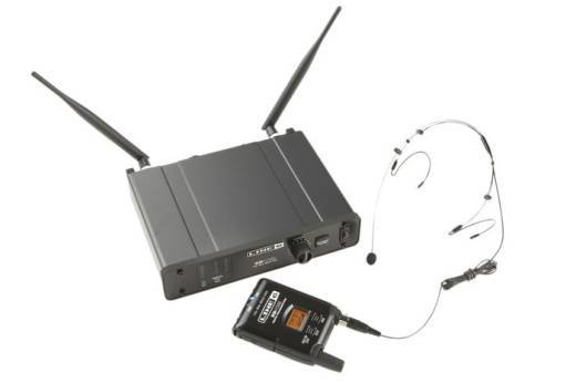 XD55HS Digital Wireless Headset Mic System