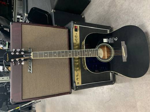 DR-100 Acoustic - Ebony