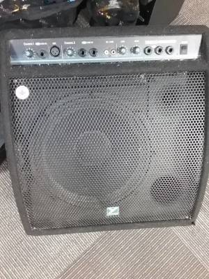 Compact Powered Monitor / Instrument Amplifier - 100 Watts