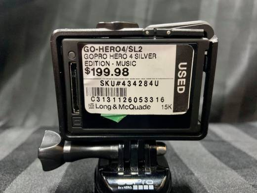 Store Special Product - GOPRO HERO 4 SILVER EDITION - MUSIC