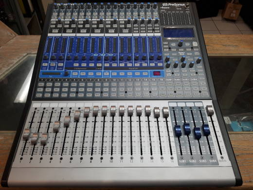 16-Channel Digital Mixer with 16 Mic Pre's