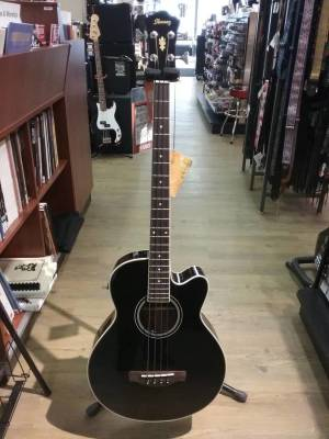 AEB8E - Acoustic Bass 4 - Black