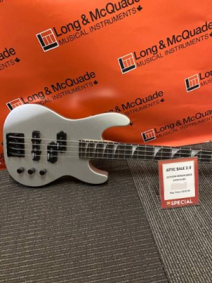 Store Special Product - JS Series Concert Bass Minion JS1X, Amaranth Fingerboard - Satin Silver