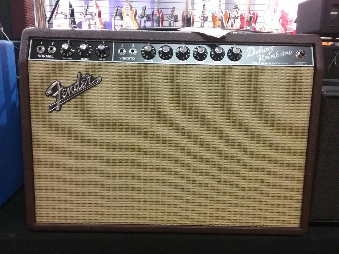 Fender '65 Deluxe Reverb - Red Wine