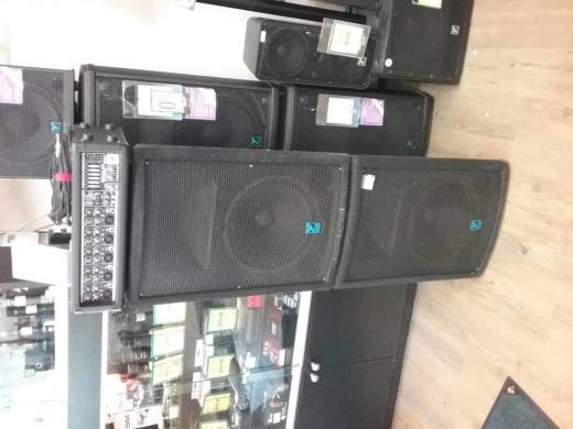 Yorkville 250w PA System