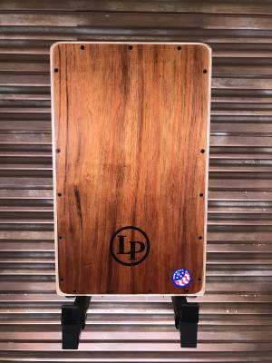 Latin Percussion - LTD EDITION CAJON W/ KOA FRONT PLATE