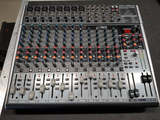 X2222USB - 22 Input 2/2 Bus Mixer with EFX and USB