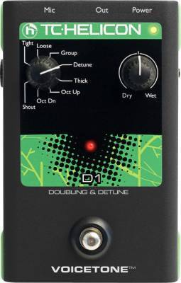 Store Special Product - T.C. VoiceTone D1 Doubling And Detune Pedal