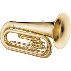 Jupiter 384L - BBb Compact Marching Tuba - Convertible - Lacquer Finish