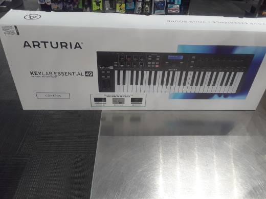 Arturia KeyLab Essential 49 Controller and Software Suite - Black