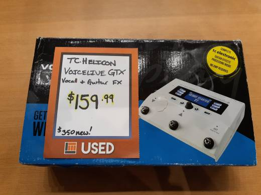 TC Voicelive Play GTX Harmony & FX for Guitarists