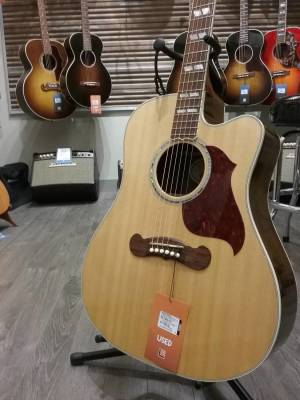 Songwriter Deluxe Studio Cutaway Acoustic Guitar - Natural Finish