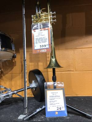 Store Special Product - JUPITER BB TRUMPET 3RD SADDLE, 1ST RING W/CASE