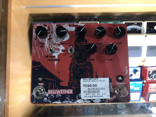 Store Special Product - Walrus Audio Bellwether Analog Delay