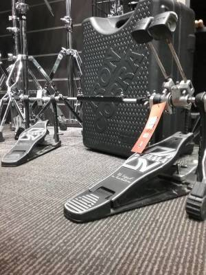 Rockstar Chain Drive Double Pedal With Case