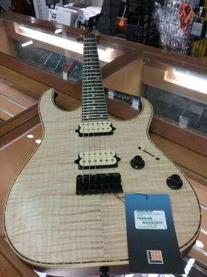 RG Electric Guitar - Natural Flat