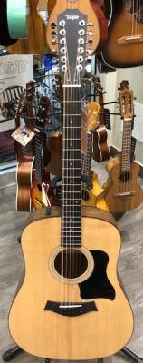 Store Special Product - Taylor 150e 12-String Dreadnought Walnut/Spruce Acoustic Electric Guitar with Gigbag