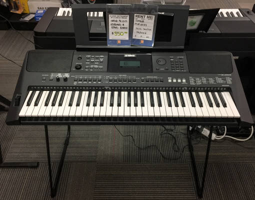 YAMAHA PORTABLE KYBD (TOUCH SENS) W/ADAPTOR