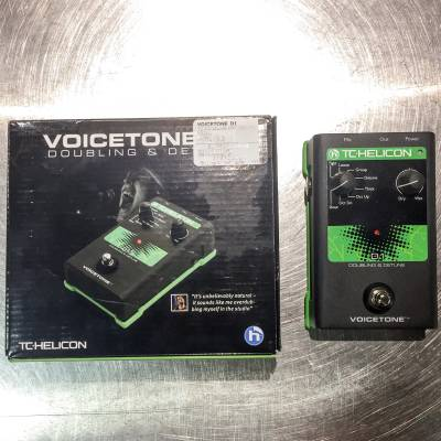 TC DOUBLING AND DETUNE PEDAL